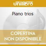 Piano trios cd musicale di Schumann