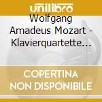 Quartetti per piano k478, k493 cd musicale