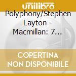 Opere sacre cd musicale di Macmillan