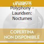 Nocturnes cd musicale di Lauridsen