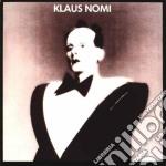 Klaus nomi cd musicale di Klaus Nomi