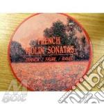 Son. per violino - monch, damerini cd musicale di Franck/faure'/ravel