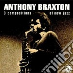 3 compositions of new... cd musicale di Anthony Braxton