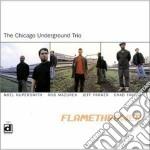 Chicago Underground Trio - Flamethrower cd musicale di The chicago underground trio