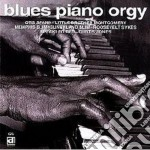 Blues piano orgy - cd musicale di O.spann/s.slim/r.sykes & o.