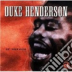 Get your kicks - cd musicale di Henderson Duke