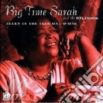 Blues the year one-d-one - cd musicale di Big time sarah & the bts expre