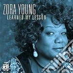 Learned my lesson - cd musicale di Young Zora