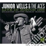 Junior Wells & The Aces - Live In Boston 1966 cd musicale di WELLS JUNIOR & THE ACES