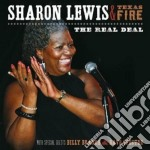 The real deal cd musicale di Sharon lewis & texas