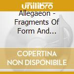 Allegaeon - Fragments Of Form And Function cd musicale di ALLEGAEON