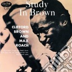 STUDY IN BROWN cd musicale di Clifford Brown