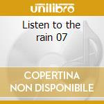 Listen to the rain 07 cd musicale di Stephan Micus