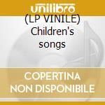 (LP VINILE) Children's songs lp vinile