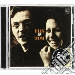 ELIS & TOM(ristampa) cd musicale di REGINA ELIS-ANTONIO CARLOS JOB
