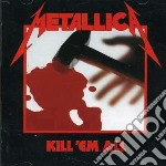 KILL'EM ALL cd musicale di METALLICA