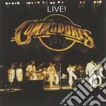 LIVE! cd musicale di COMMODORES