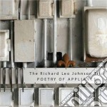 Poetry of appliance cd musicale di Johnson richard leo