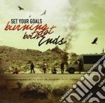 (LP VINILE) Burning at both ends lp vinile di Set your goals