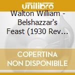 Belshazzar's feast, facade cd musicale di William Walton