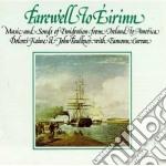 Farewell to eirinn - keane dolores cd musicale di Dolores keane & john faulkner