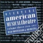 Ouverture - american musical theatre vol cd musicale