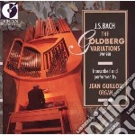 The goldberg variations cd musicale di Bach johann sebasti