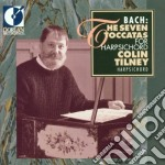 The seven toccatas for harpsichord cd musicale di Bach johann sebasti