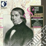 Piano music of robert schumann cd musicale di Robert Schumann
