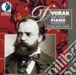The two piano quartets cd musicale di Antonin Dvorak