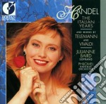 The italian years cd musicale di Handel georg friedr