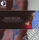 Quattro sonate per violino solo vol.1 cd musicale di Max Reger