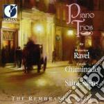 Piano trios cd musicale di Maurice Ravel
