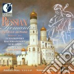 Russian romantics for cello and piano cd musicale di Miscellanee