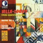 Villa-lobos string quartets vol.1 - quar cd musicale di Villa lobos heitor