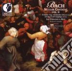 Secular cantatas vol.ii cd musicale di Bach johann sebasti
