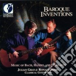Baroque inventions cd musicale di Miscellanee