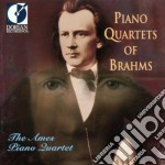 Piano quartets of brahms cd musicale di Johannes Brahms