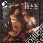 The italian lute songs cd musicale di Miscellanee
