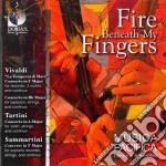 Fire beneath my fingers - 'la tempesta d cd musicale di Antonio Vivaldi