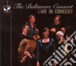 The baltimore consort, live in concert cd musicale di Miscellanee