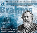 An emotional journey :the clarinet works cd musicale di Johannes Brahms