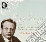 Complete sonata for unaccompanied violin cd musicale di Max Reger