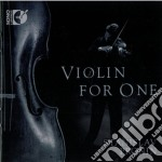 Violin for one cd musicale di Miscellanee
