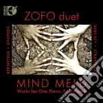 Mind meld: works for one piano, four han cd musicale di Miscellanee