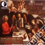 Tientos y passacalles cd musicale di Juan Cabanilles