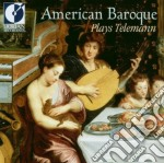 American baroque plays telemann cd musicale di Telemann georg phil