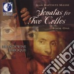 Onatas for two cellos, book 1 cd musicale di Masse jean baptiste