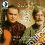 Sonatas for two guitars cd musicale di Domenico Scarlatti