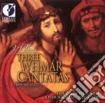 Bach J.S. - Three Weimar Cantatas, Bwv 182, 12, 172 /susanne Rydén, Soprano  The Bach Ensemble, Joshua Rifkin cd musicale di Bach johann sebasti